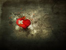 I miss you II by pincel3d