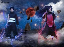 cosplay of Madara and Obito too by sochouquette