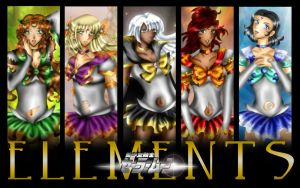 Elemental Wallpaper by SailorDream