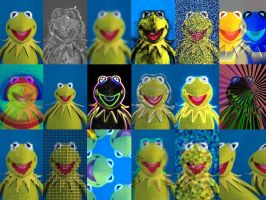 the many faces or kermit by slickest