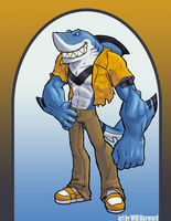 Stan the Wereshark by Will-E-H