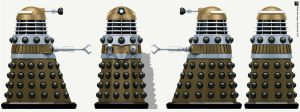 Hive Dalek Supreme by Librarian-bot