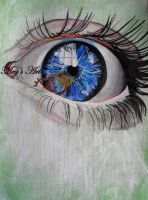 Eye painting by stardust12345