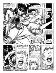Suzy Spreadwell 1: pg 9 inked/lettered (pre-color) by JLRoberson