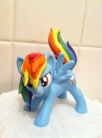 Rainbow Dash Sculpt by Reyndrys