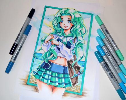 College Sailor Neptune by Lighane