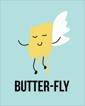 butter-FLY by givemewaffles