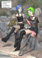 Rehabilitation program 4 - Candice and Charity by excilion