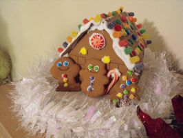 Ghetto Gingerbread House by AlfaFilly