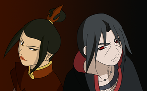 Itazula: Back To Back by SractheNinja