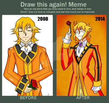 Draw this again Meme by horade