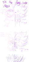 Best Friends Till The End (sketch Comic) by GitzerStar