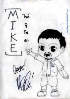 LP Signature : Mike by youngthong-art