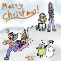 Christmas 2013 by Chanree