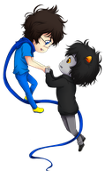HS - Hold on Tight, Karkat by feshnie