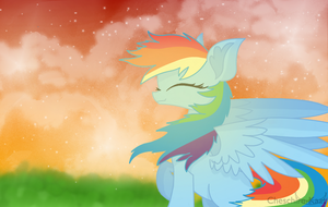 Rainbow Dash - I'll Fly by Cheschire-Kaat