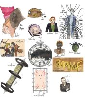 drawing per episode-Doctor Who Season 1 by hatoola13