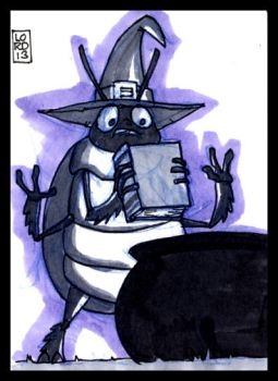 Sketch Card-A-Day 2013: 061 by lordmesa