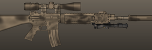 Marcus Luttrell's Mk12 Mod 1 SPR by madmonty98