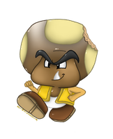 Commission: Toad/Goomba Hybrid by Mario-Wolfe