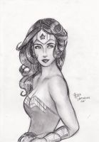 Wonder woman's Stare by brilliant-beatrice