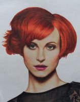 Hayley Williams III by RoselinEstephania