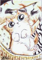 RIP Rugford rememberence ACEO 6 weeks by KingZoidLord