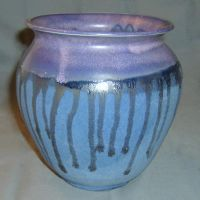 purple drip vase by cl2007