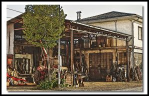 Tractors workshop by mauromago