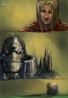 full metal alchemist  rough by suza90