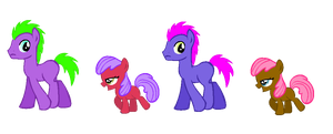 Earth Pony Adopts .:2 Left:. by Rin-Sylveon-Chan