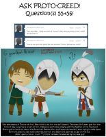 Ask Proto-Creed: Questions 55+66 by jaderotaski