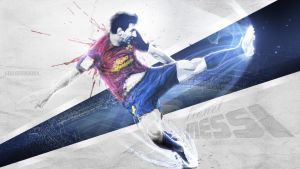 Lionel Messi by anasonmania