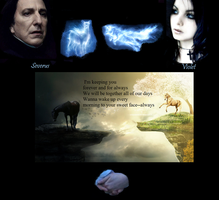 Severus and Violet Forever and for Always by littlewolfmoccasin