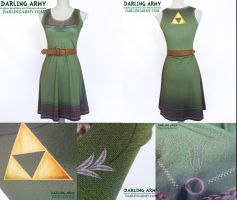 Link Legend of Zelda Cosplay Dress by DarlingArmy