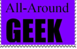 All-Around Geek Stamp by PsychoDemonFox
