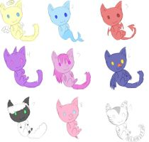 Hybrid Kitty Adopts by SoulPitch
