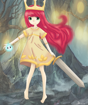 Child of Light by Stop-wasting-time