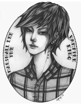 Marshall Lee the Vampire King by Chama