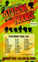 Attack of the Noobs Poster by SapphireStar4eva