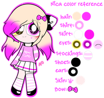 ~Nica Color Reference by Nini-the-kitty