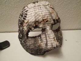 Burned Book Mask 5 by raena-nayrue