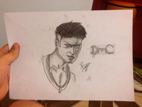 Dante from DMC ! Drawed By me :D by pedrohenn1