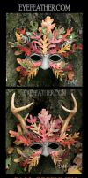 Fall Oakmen Masks by eyefeather