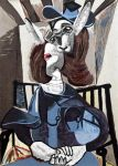 Bunny in chair by Zita-Art
