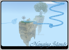 Hanging Islands by T-i-g-g