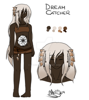 [HP OC] Dream Catcher (Demi) Ref by PocketChocolate
