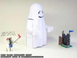 Black Monarch papercraft ghost by ninjatoespapercraft