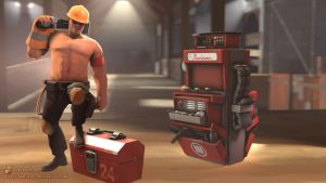 SFM Poster: Sexy Engie by PatrickJr