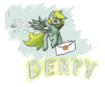 Derpy the Mailmare! by DarkFlame75